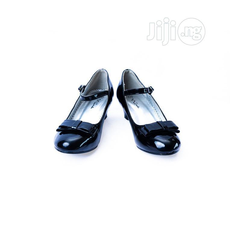 Nina Black Heel Shoes