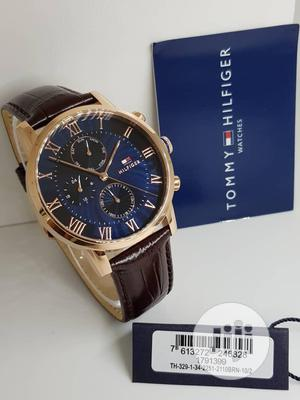 High Quality Tommy Hilfiger Leather Watch | Watches for sale in Oyo State, Ibadan