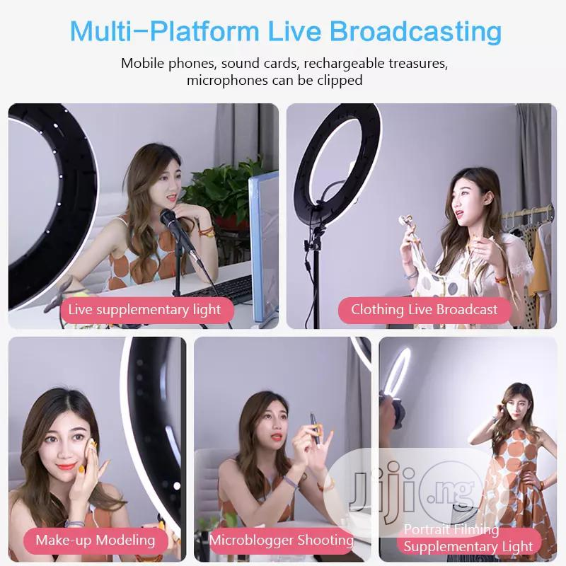 18 Inch LED Ring Light With Tripod Stand Dimmable | Accessories for Mobile Phones & Tablets for sale in Alimosho, Lagos State, Nigeria