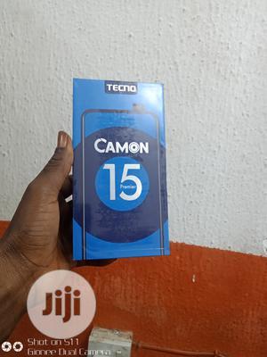 New Tecno Camon 15 Premier 128 GB Blue   Mobile Phones for sale in Lagos State, Ikeja