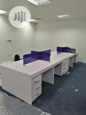 4 Person Workstation With Lockable Drawers | Furniture for sale in Lagos State, Alimosho