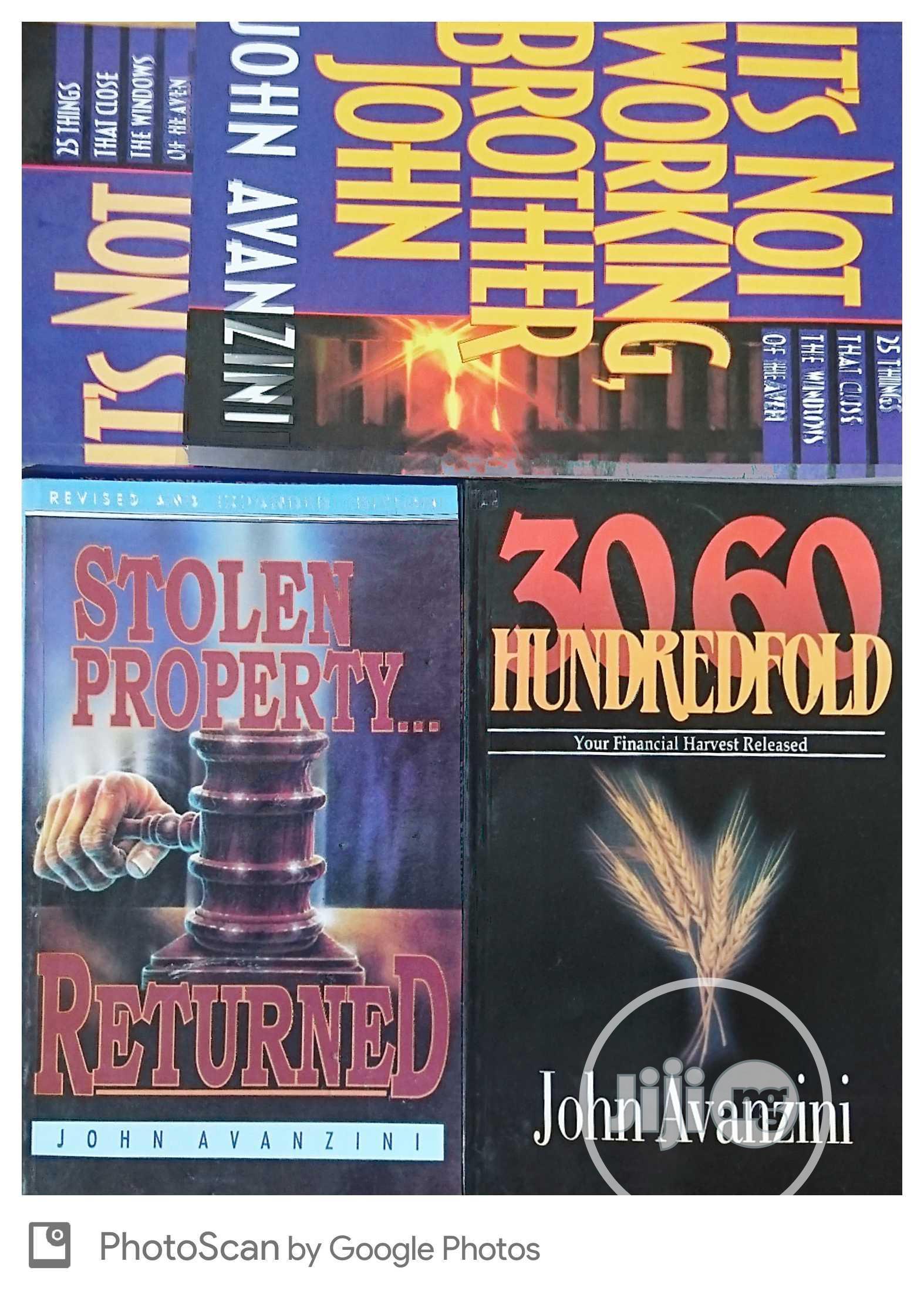 Archive: Dr John Avazini's 3 Books Collection Set.