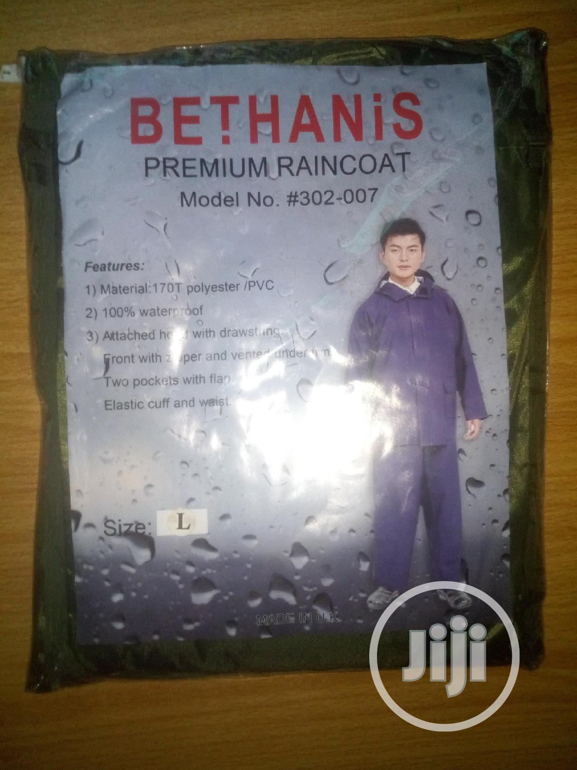 Premium Rain Coat High Quality Is Available Here