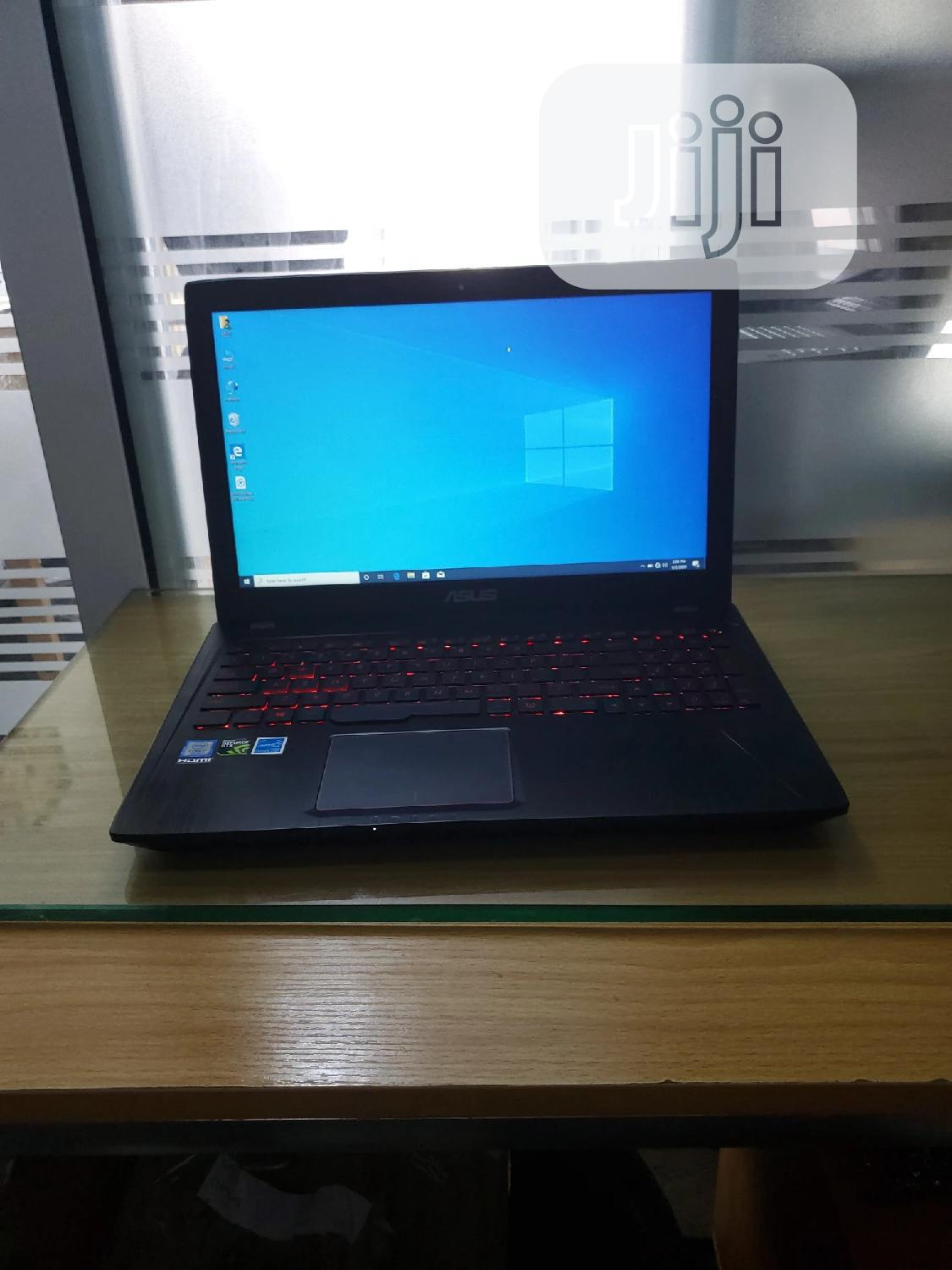Laptop Asus ROG GL553VD 8GB Intel Core I7 SSD 256GB   Laptops & Computers for sale in Ikeja, Lagos State, Nigeria