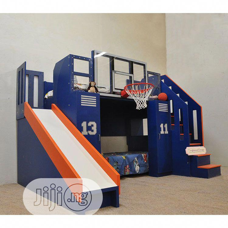 Basketball Bunk – The Ultimate | Children's Furniture for sale in Ajah, Lagos State, Nigeria