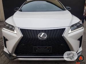 Lexus RX 2019 450h F Sport AWD White | Cars for sale in Lagos State, Surulere
