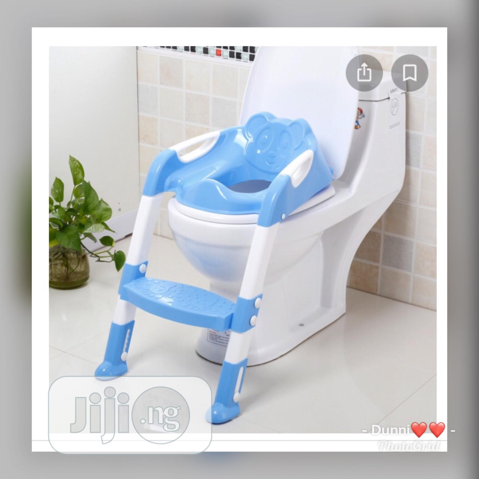 Potty Toilet Seat With Ladder