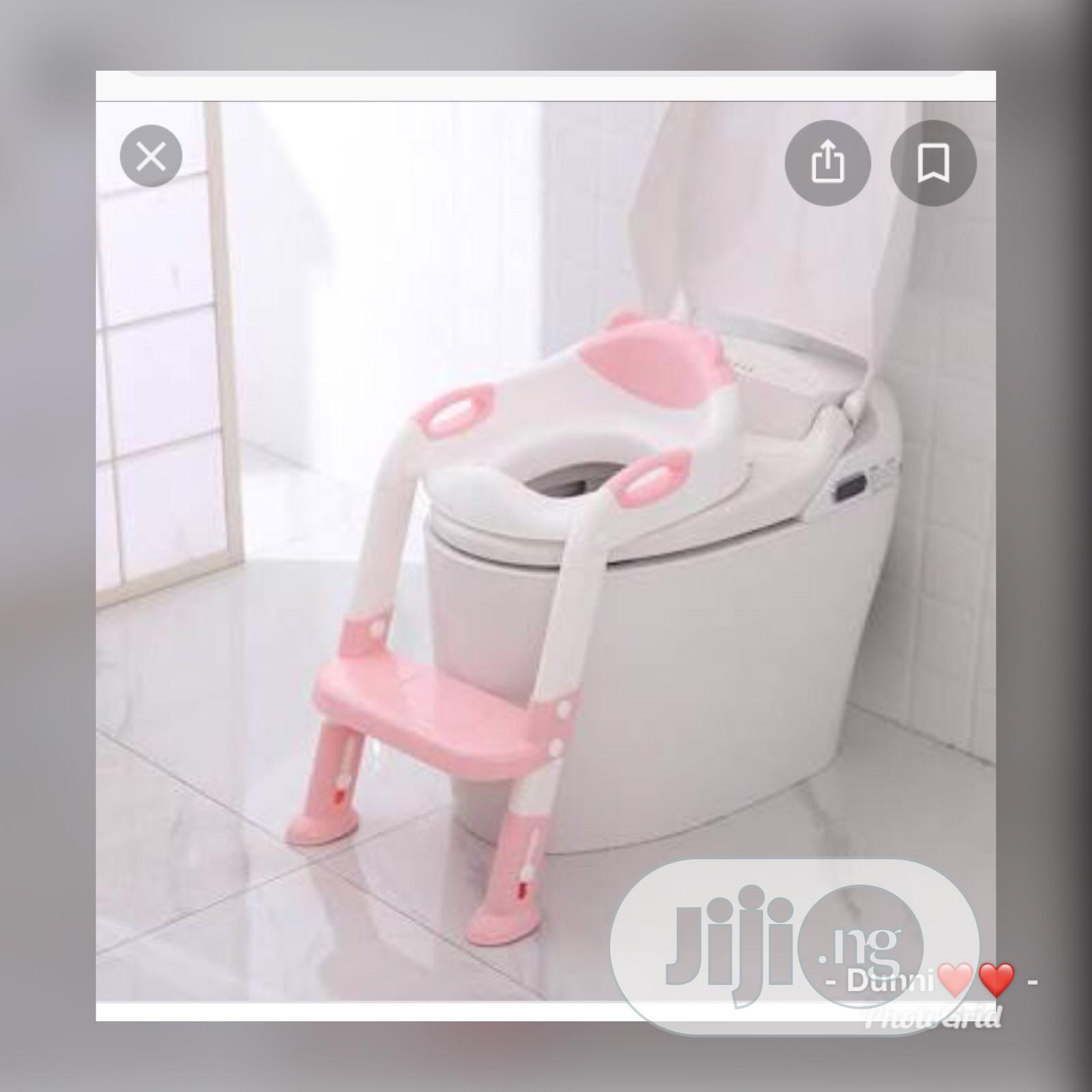 Potty Toilet Seat With Ladder | Baby & Child Care for sale in Lagos Island (Eko), Lagos State, Nigeria