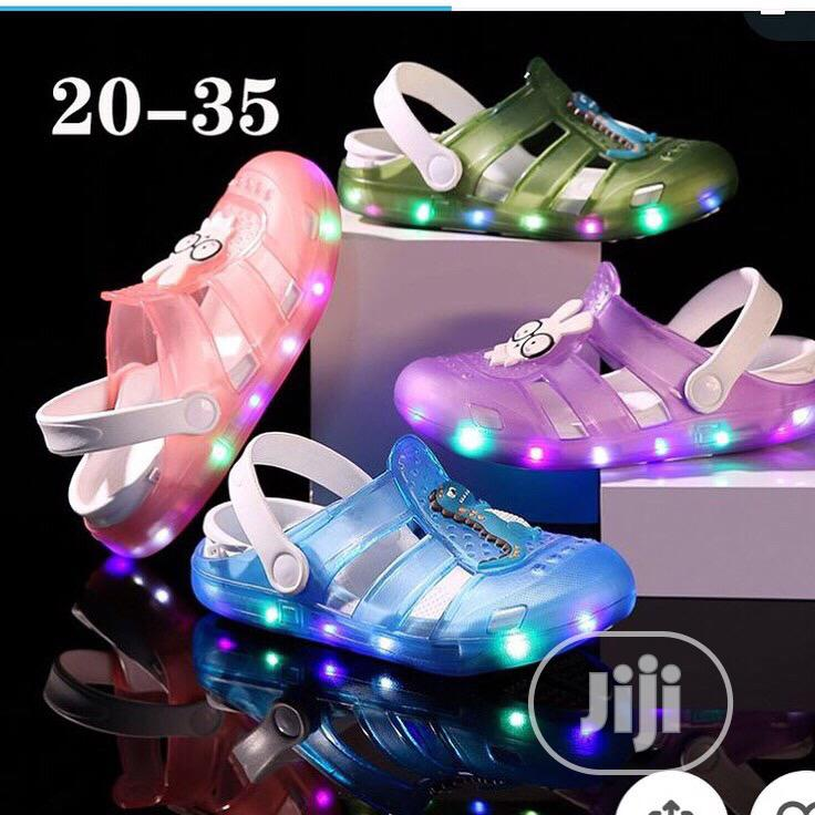 Unique Lightening Sandals for Lovely Kids