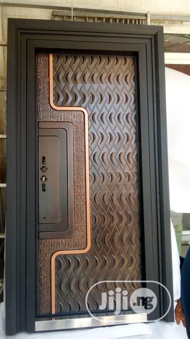 3ft Turkey Casted Aluminium Armoured Security Door | Doors for sale in Orile, Lagos State, Nigeria