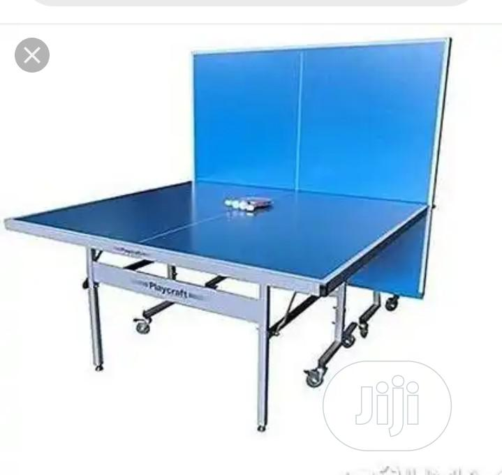 Commercial Outdoor Aluminum Table Tennis Board With Full Set