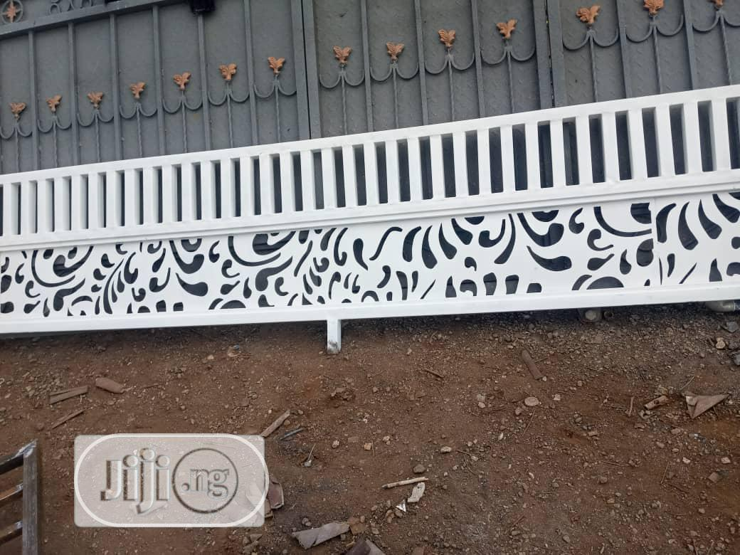 Laser Gate, Fence Rails And Hand Rail Engineering | Building Materials for sale in Central Business Dis, Abuja (FCT) State, Nigeria