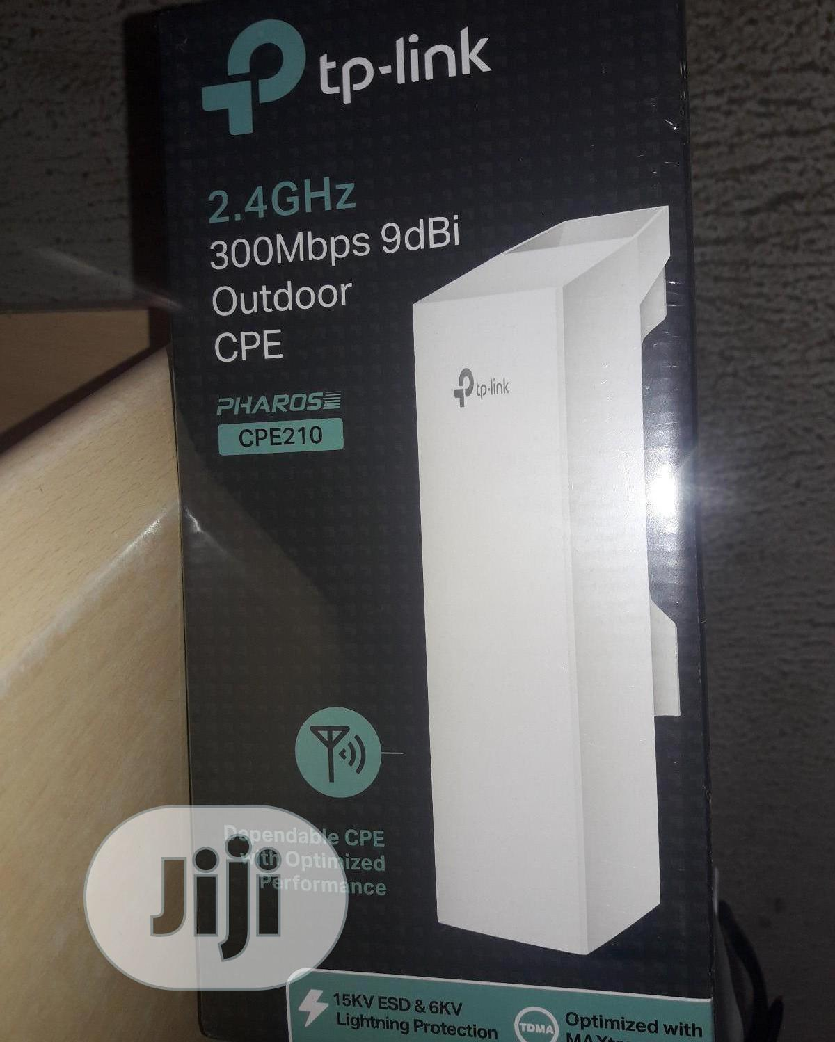 Archive: Tplink Outdoor Access Point 300mbps 9dbi Antenna
