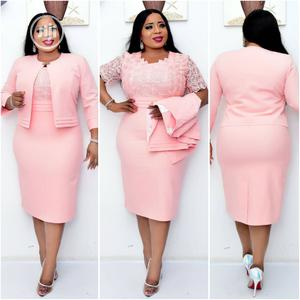 New Female Turkey Quality Peach Gown Suit | Clothing for sale in Lagos State, Lagos Island (Eko)
