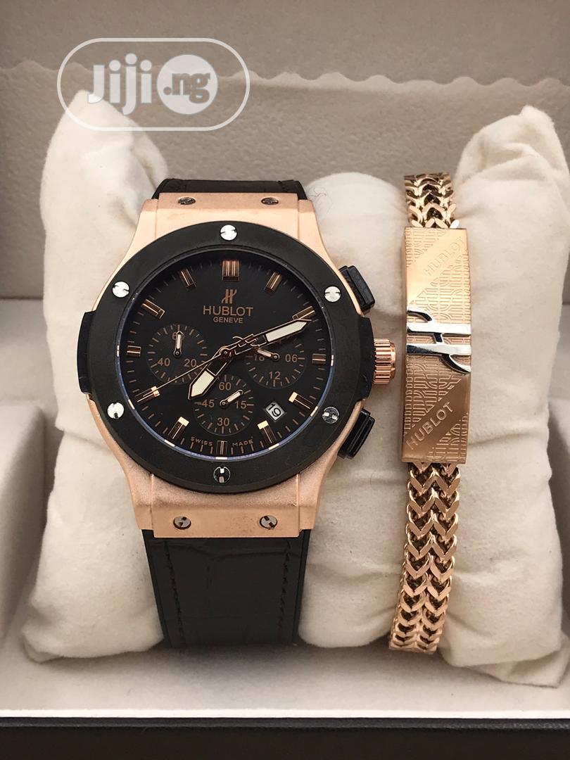 Hublot Watch and Bracelet