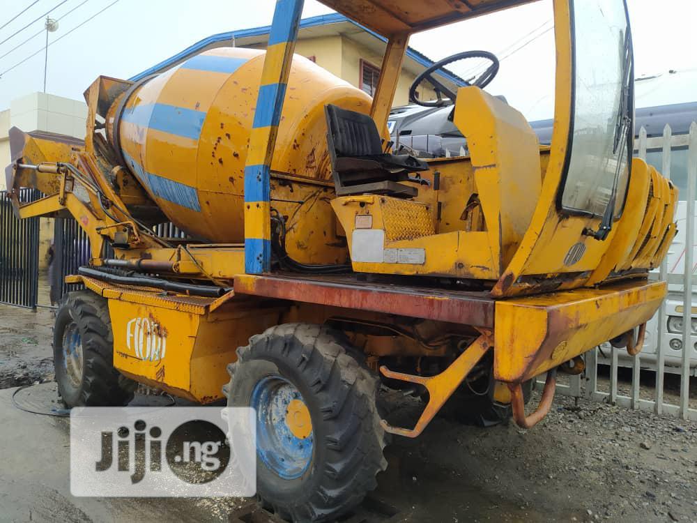 Tokunbo FIORI Self Loader Concrete Mixer 3.5cubic Metres   Heavy Equipment for sale in Apapa, Lagos State, Nigeria