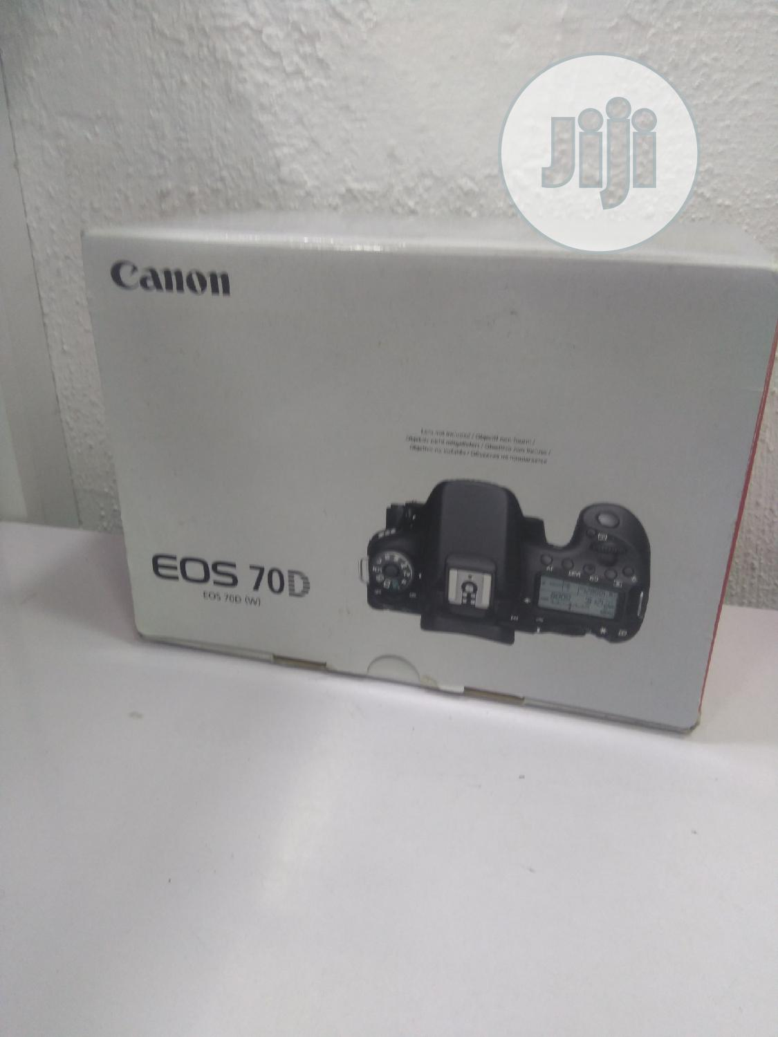 Canon 70d With 18-135mm Lens (Brand New)