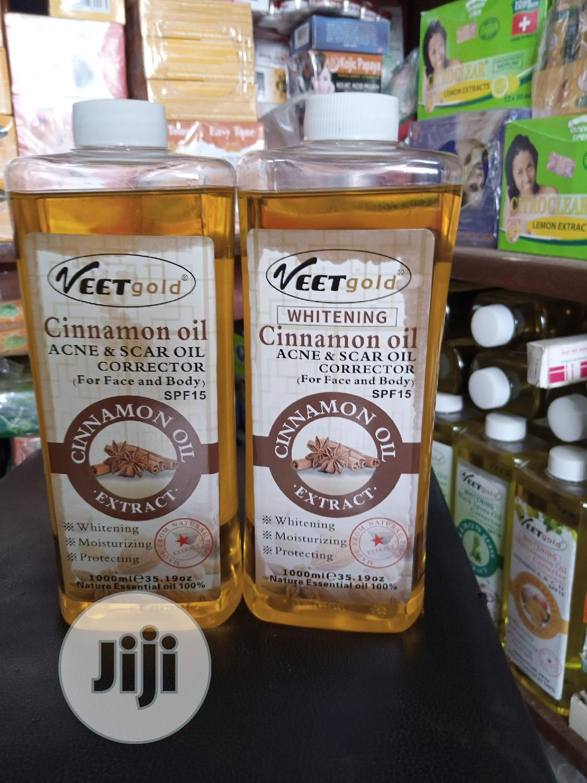 Veet Gold Cinnamon Oil