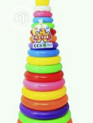 Big Rainbow Stacking Circle Play Set Rattle | Toys for sale in Lagos State, Lagos Island (Eko)