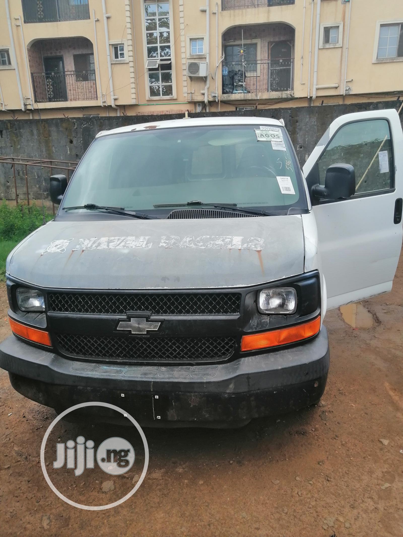 Chevrolet Express 2007 Cargo Van G1500 RWD White