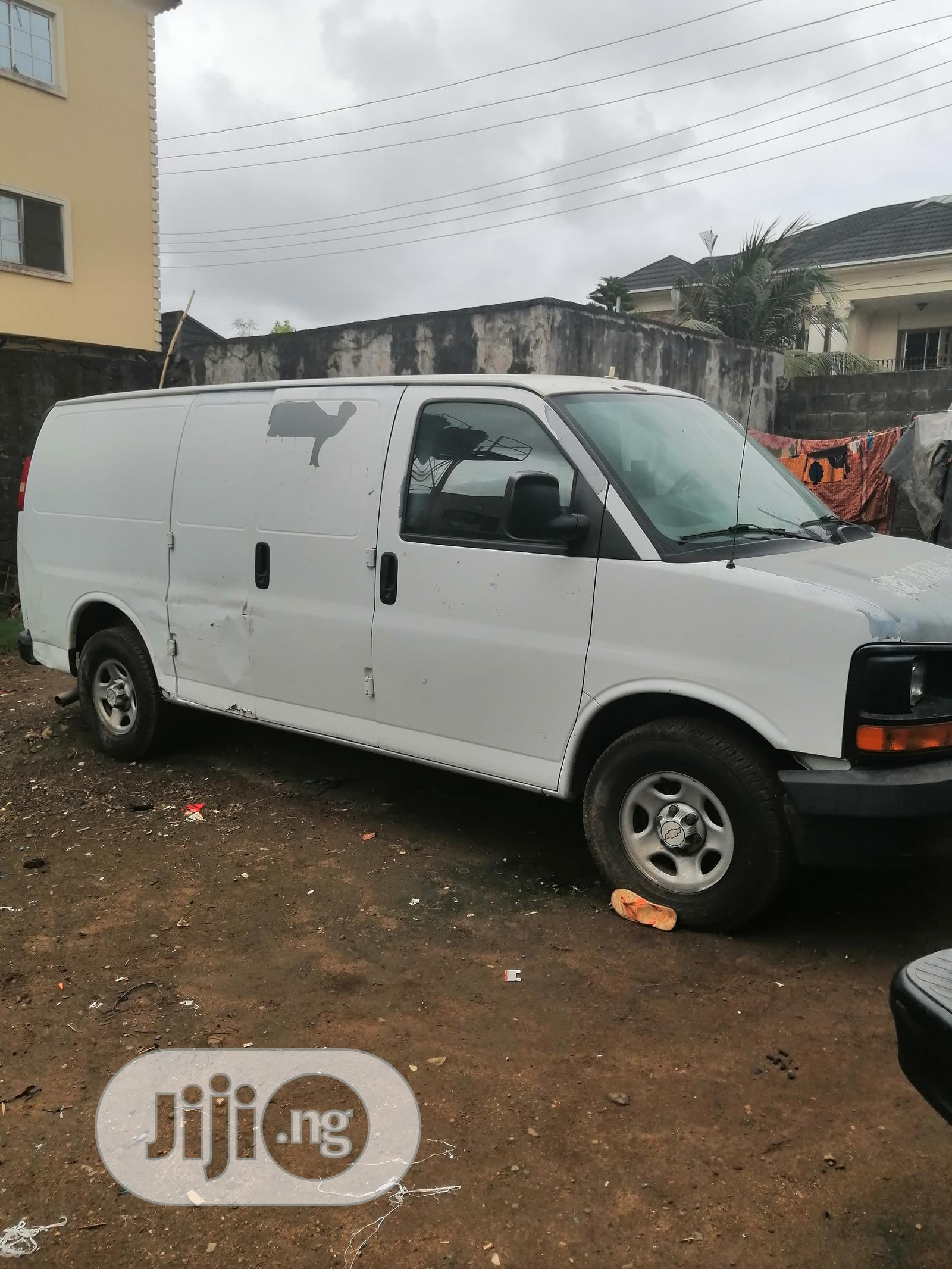 Chevrolet Express 2007 Cargo Van G1500 RWD White | Buses & Microbuses for sale in Gbagada, Lagos State, Nigeria