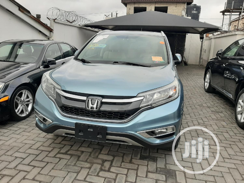 Honda CR-V 2015 Blue