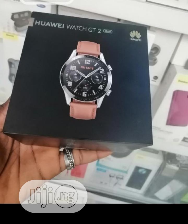 Huawel Smartwatch GT2 Smartwatch | Smart Watches & Trackers for sale in Ikeja, Lagos State, Nigeria
