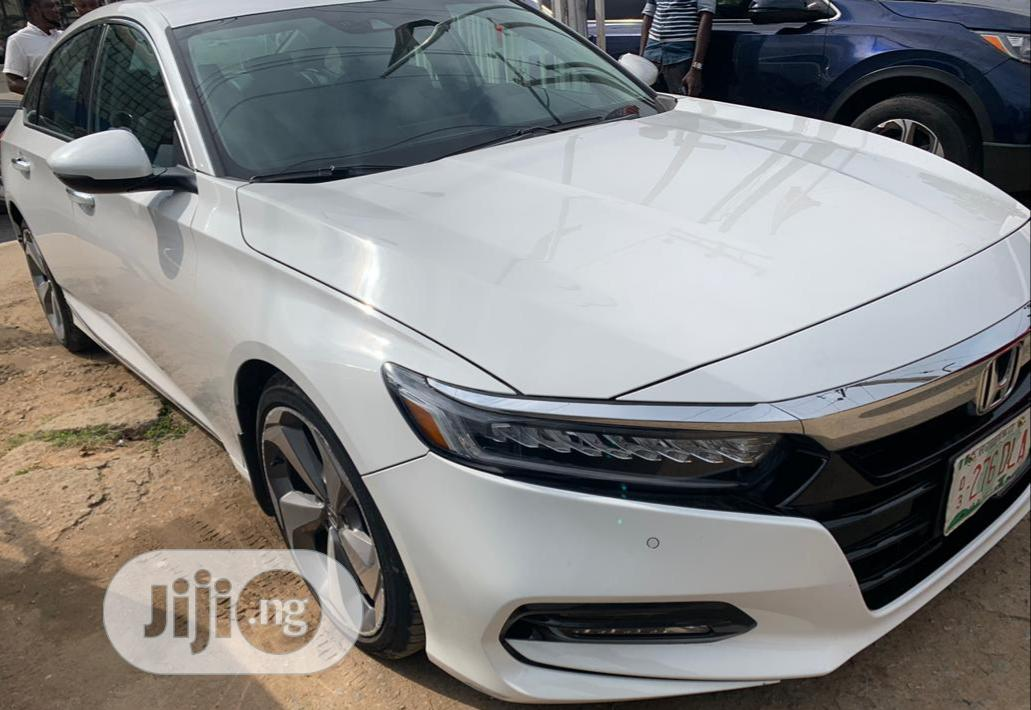 Honda Accord 2018 Touring 2 0t White In Amuwo Odofin Cars Olaitan Olayiwola Jiji Ng For Sale In Amuwo Odofin Buy Cars From Olaitan Olayiwola On Jiji Ng
