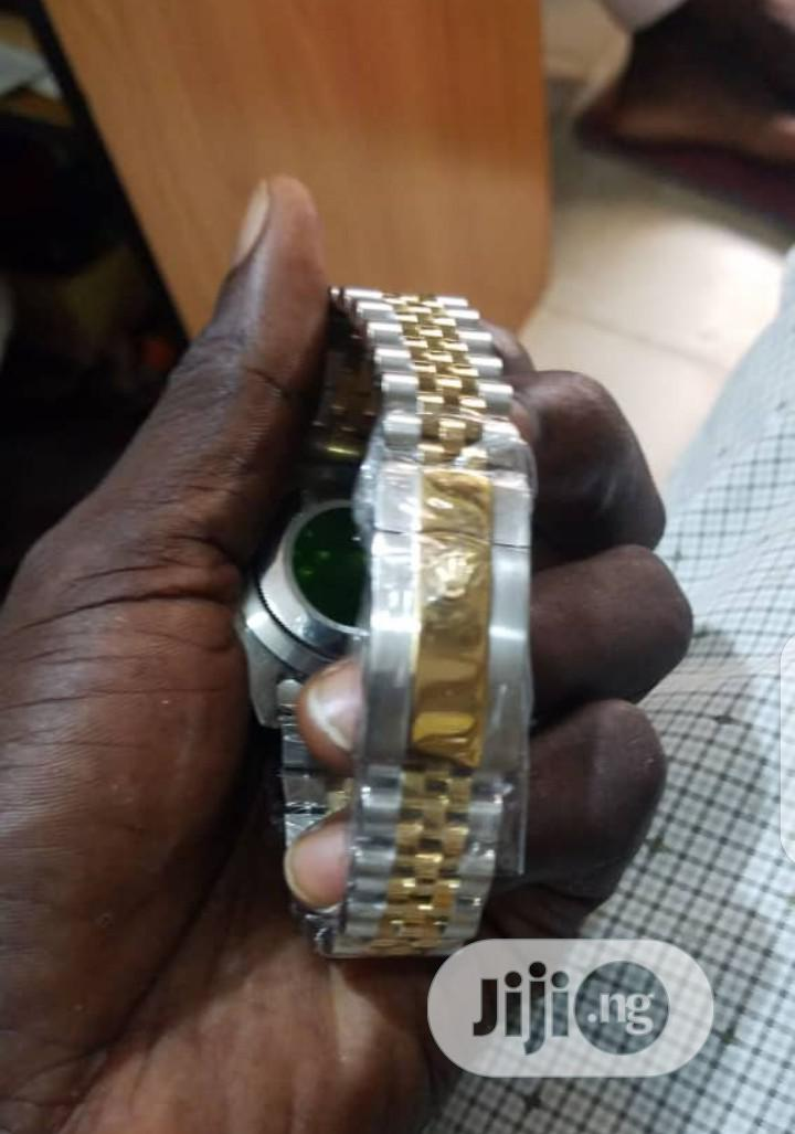 Pure Gold 750 Italy 18karat Rolex Watch | Watches for sale in Yaba, Lagos State, Nigeria
