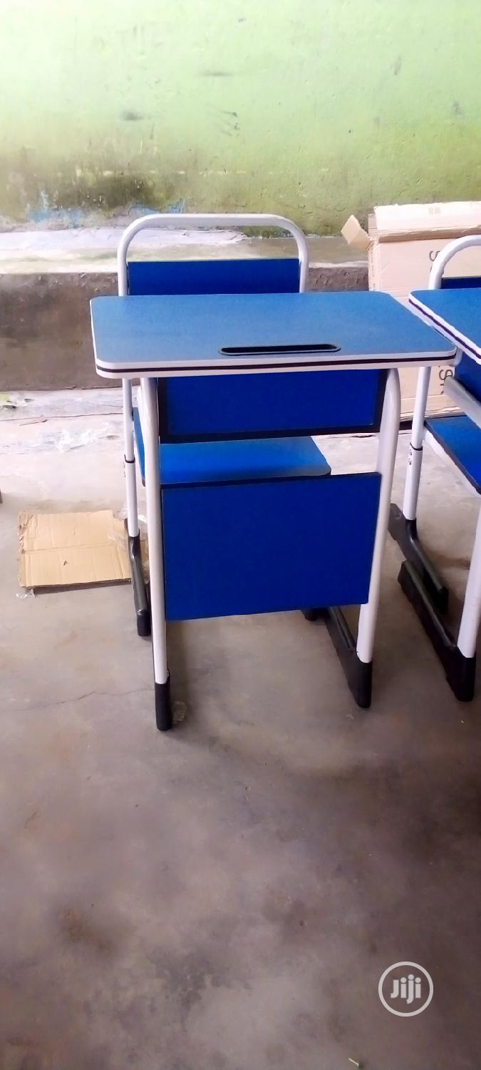Unique Set Of Student Desk With The Chair