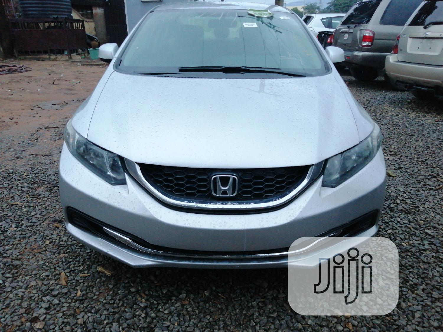 Honda Civic 2014 Silver | Cars for sale in Gwagwalada, Abuja (FCT) State, Nigeria