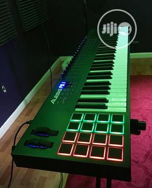 Alesis Vi61 61 Keys Midi Keyboards Controller With Drum Pads   Musical Instruments & Gear for sale in Lagos State, Ojo