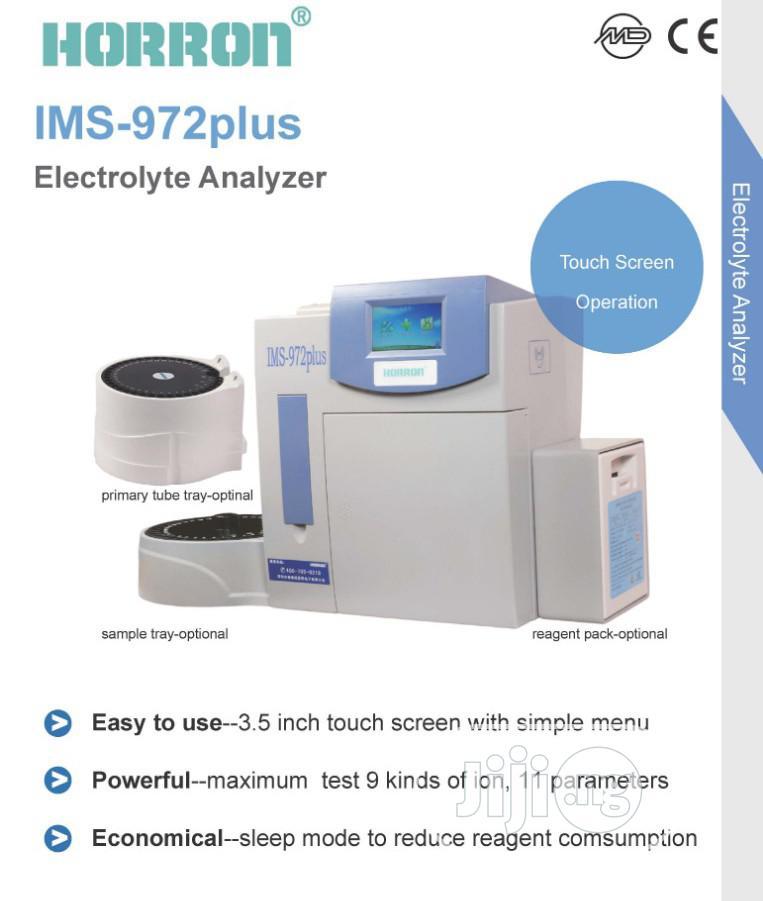 Horron Electrolyte Analyzer Machine, Optional Parameter Test