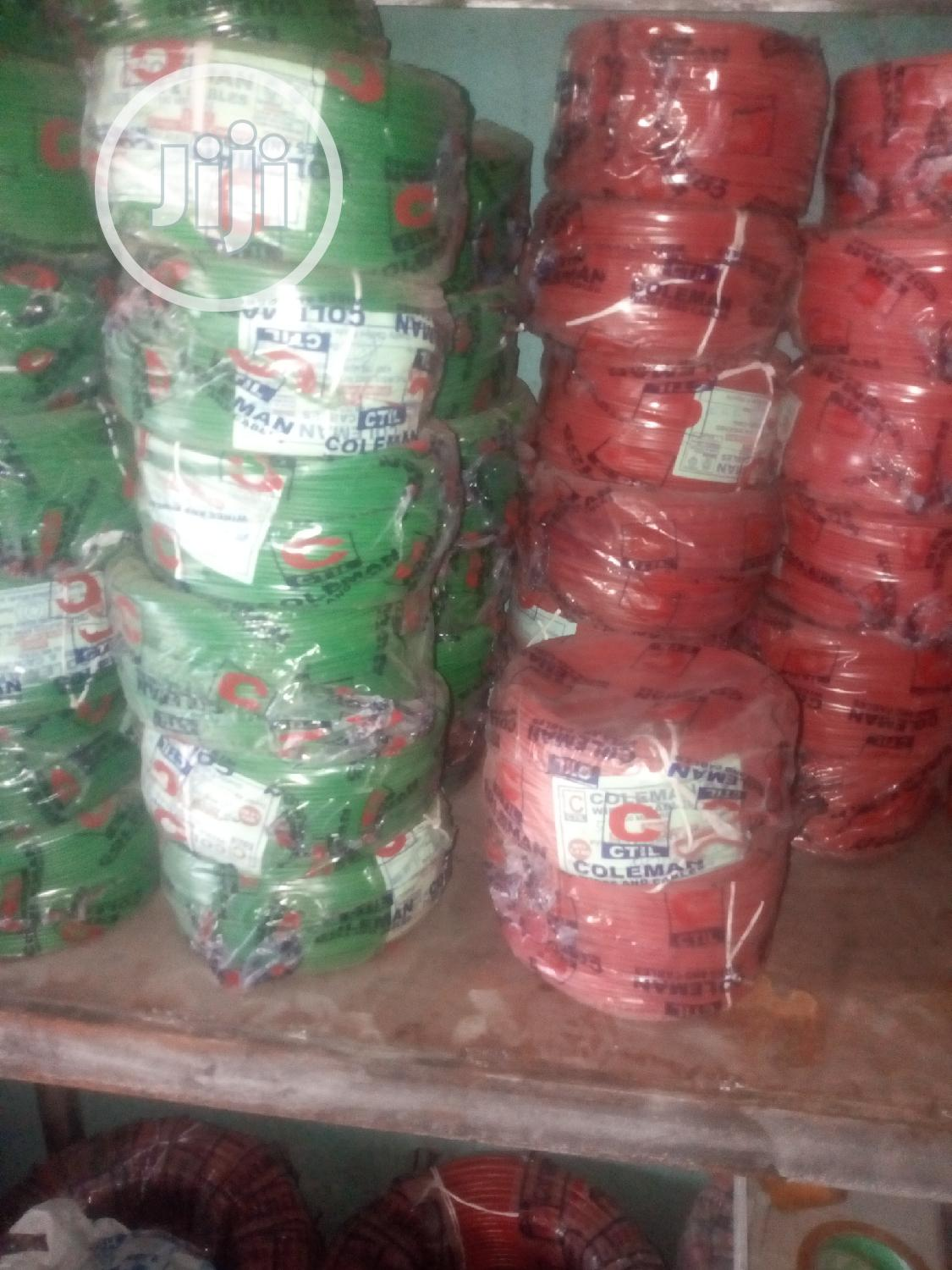1.5mm Single Core Original Coleman Wire | Electrical Equipment for sale in Ojo, Lagos State, Nigeria