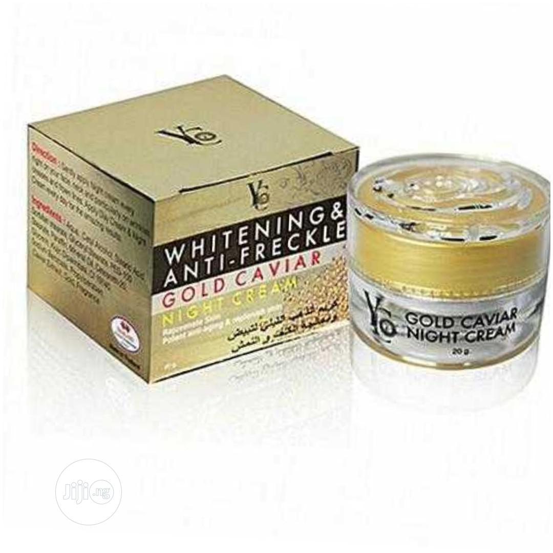Archive: Yc Whitening and Anti- Freckle Gold Caviar Night Cream