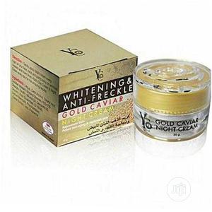 Yc Whitening and Anti- Freckle Gold Caviar Night Cream   Skin Care for sale in Lagos State, Amuwo-Odofin