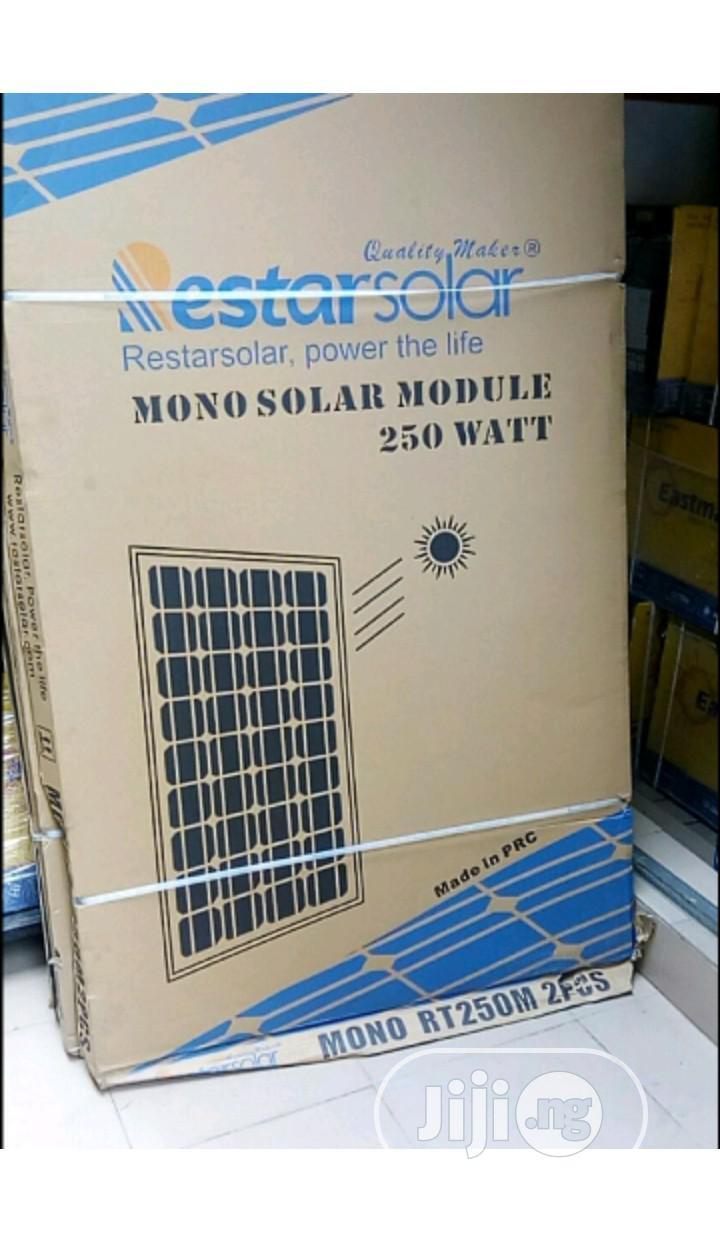 250w Restar Mono Panel