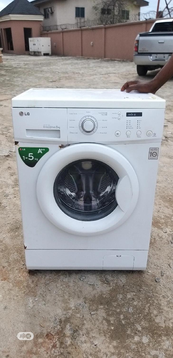 LG Washing Machine 5kg Fairly Used | Home Appliances for sale in Benin City, Edo State, Nigeria