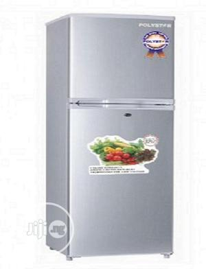 Brand New POLYESTER Double Door Fridge,External,Silver Color | Kitchen Appliances for sale in Lagos State, Ojo