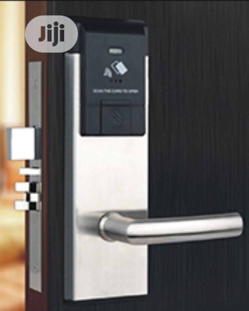 Zinc Alloy Electric RFID Key Card Lock