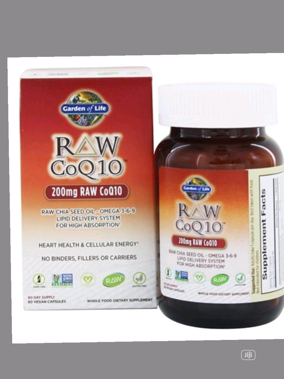 Garden of Life Raw COQ10,Hearth,Blood Sugar Regulator,Cancer