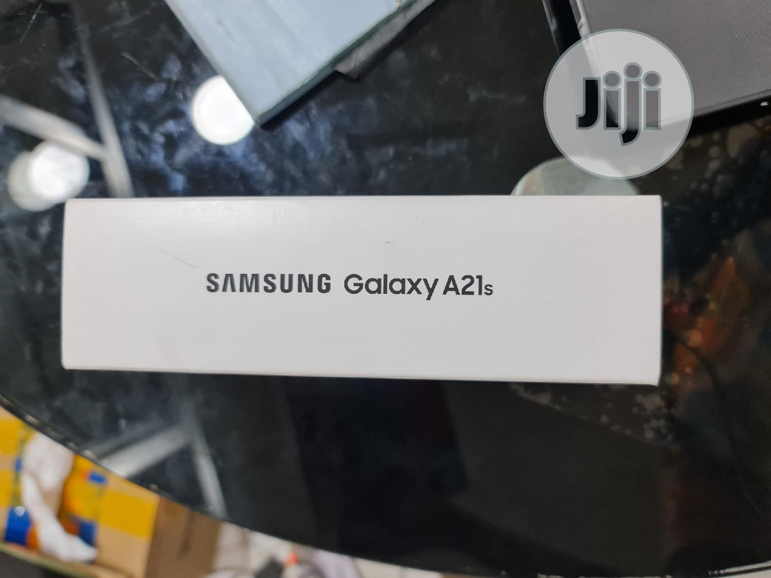 New Samsung Galaxy A21s 64 GB Black | Mobile Phones for sale in Ikeja, Lagos State, Nigeria