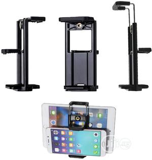 2 In 1 Tablet & Phone Holder Clip Mount   Accessories for Mobile Phones & Tablets for sale in Lagos State, Ikeja