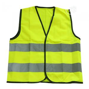 Reflective Vest Warning High Visibility Fluorescent Jacket   Safetywear & Equipment for sale in Lagos State, Gbagada