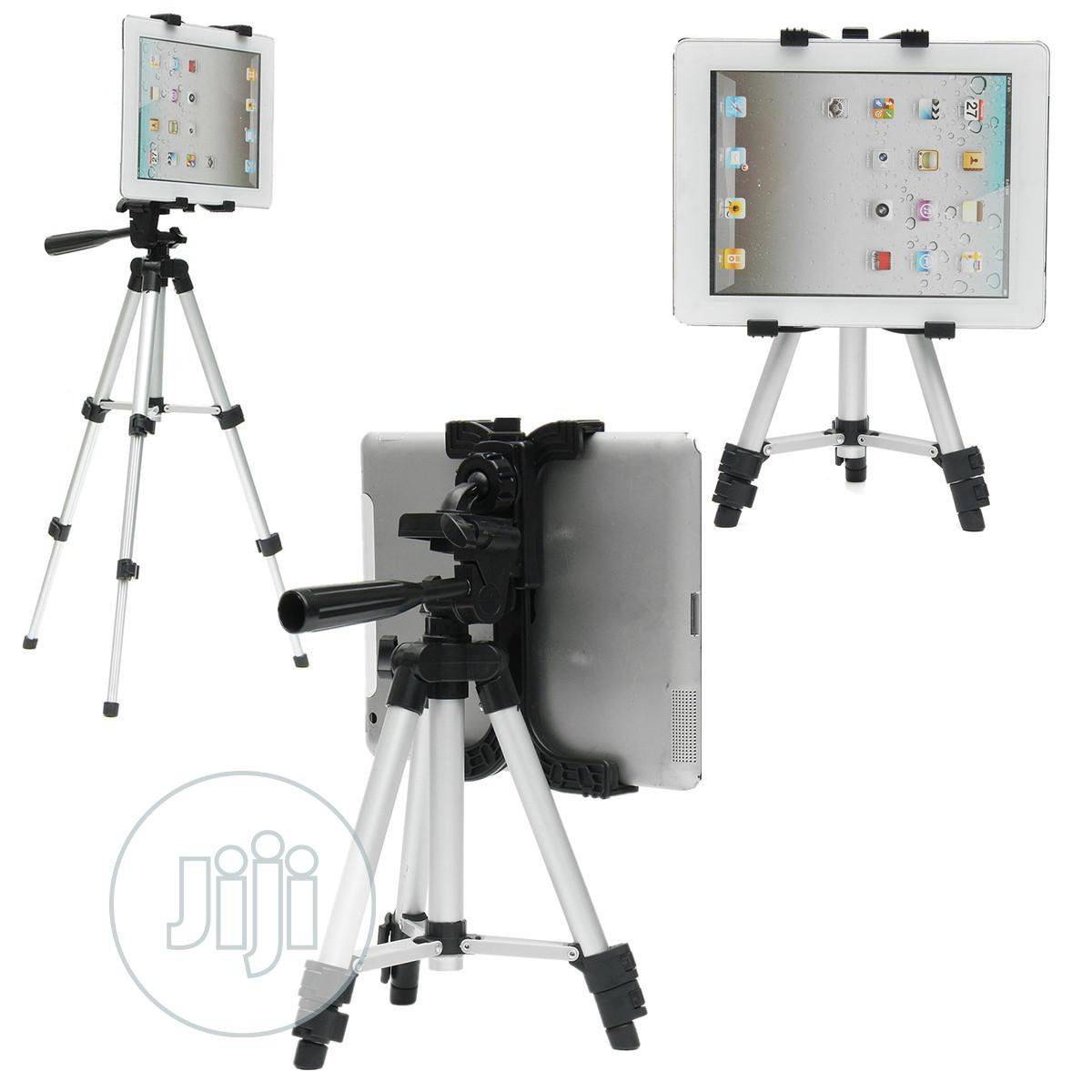 Tripod Stand For Tablet Phone Holder | Accessories for Mobile Phones & Tablets for sale in Ikeja, Lagos State, Nigeria