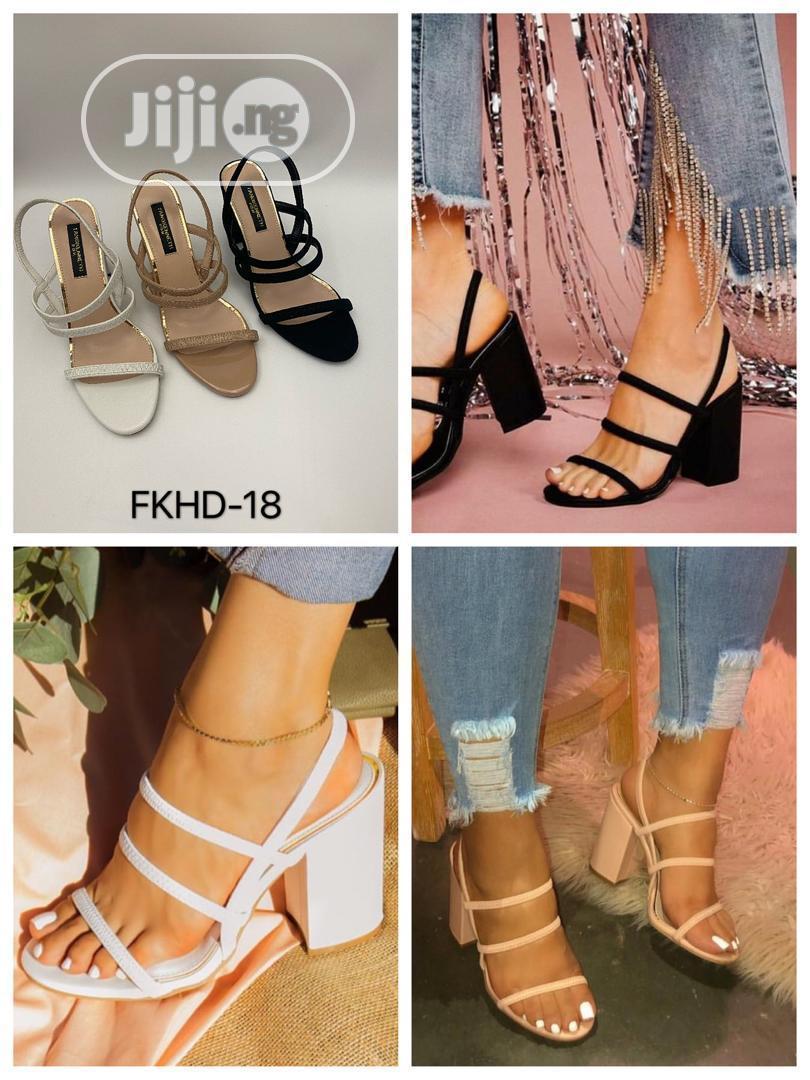 Super Beautiful Sandals.