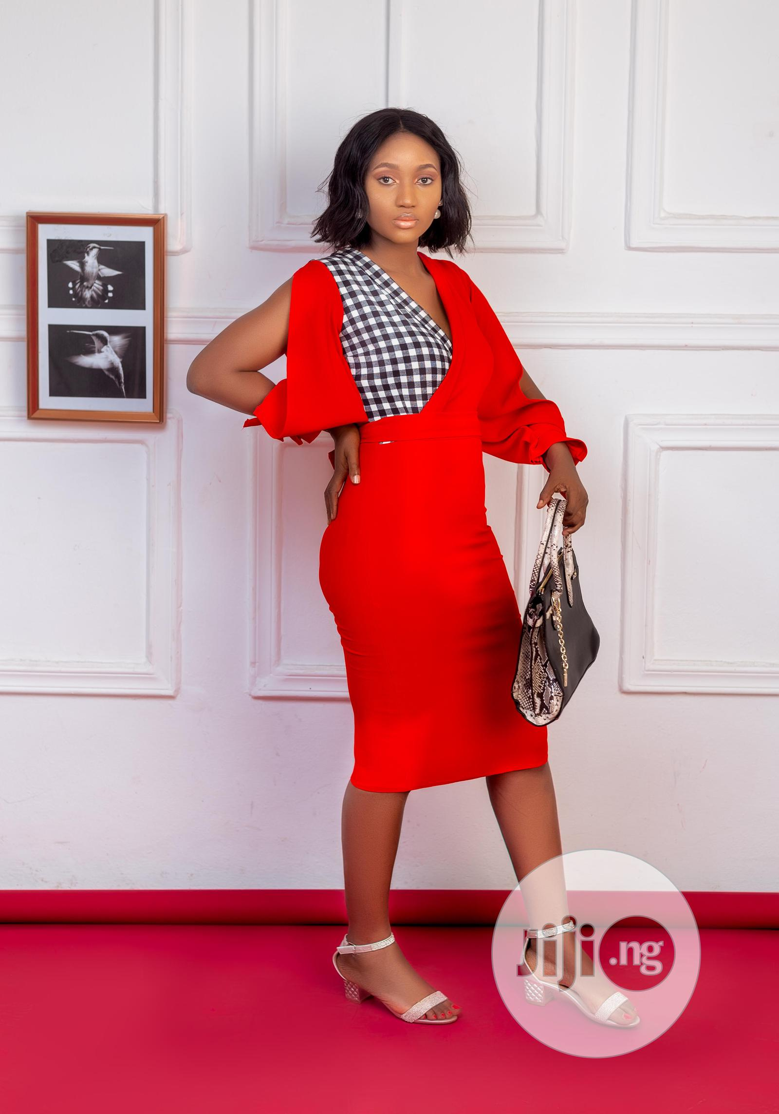 Archive: A Fashionable Red Dress
