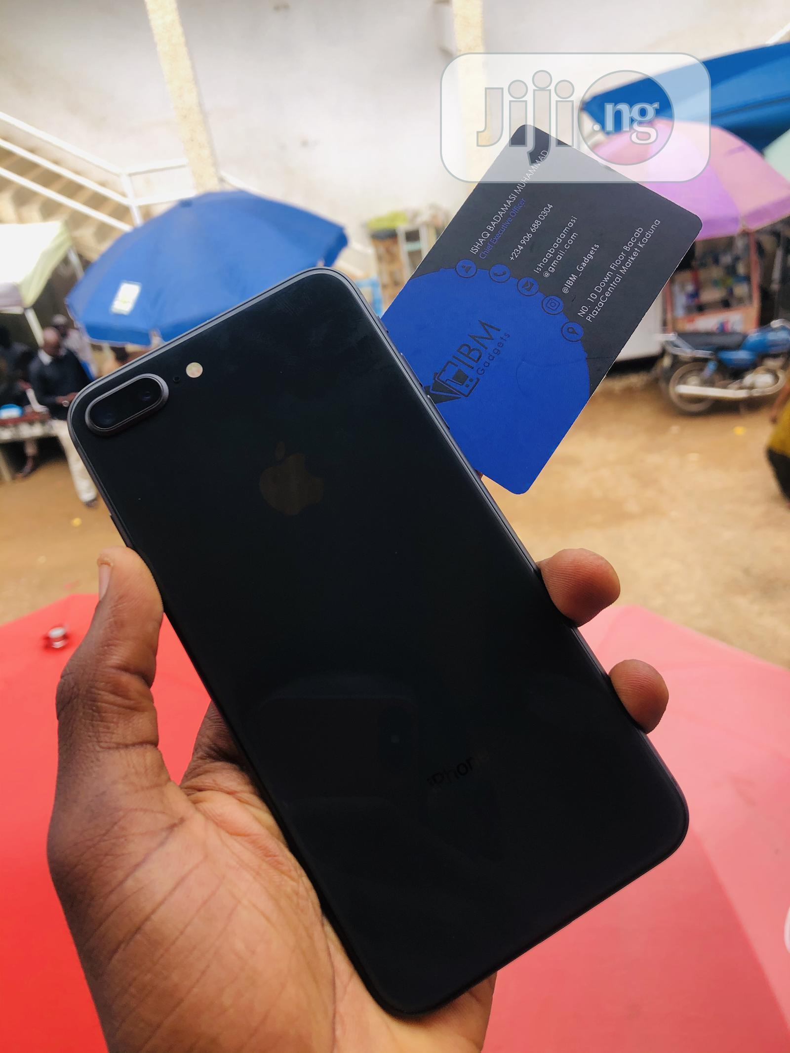 Apple iPhone 8 Plus 64 GB Black   Mobile Phones for sale in Kaduna / Kaduna State, Kaduna State, Nigeria