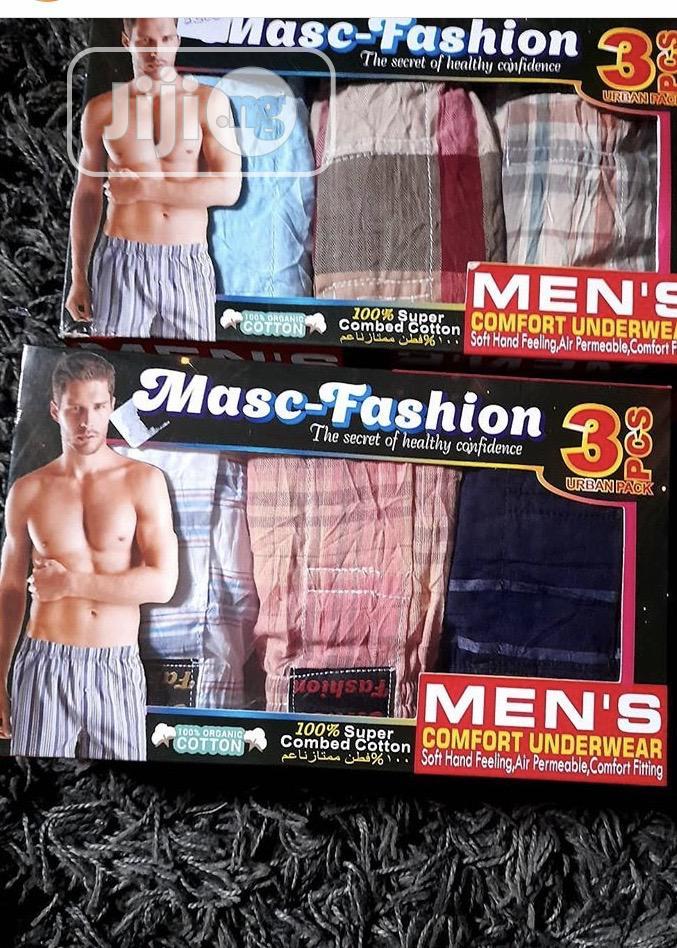 Masc Fashion Men's Woven Boxers | Clothing for sale in Lagos Island (Eko), Lagos State, Nigeria