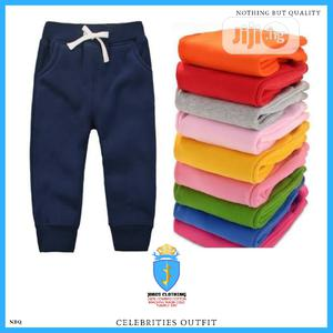 Kids Unisex Cotton Joggers Outfit   Children's Clothing for sale in Lagos State, Lagos Island (Eko)